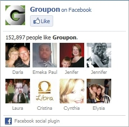 Groupon Fan Page