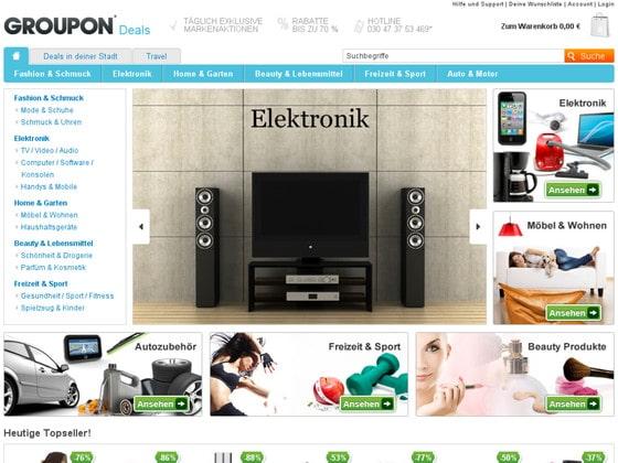 Groupon Elektronik