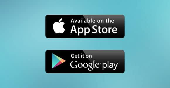 L'application est disponible sur l'Appstore et Google Play