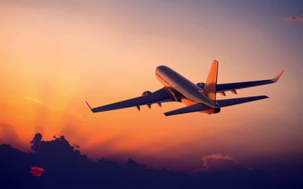 Un vol agréable