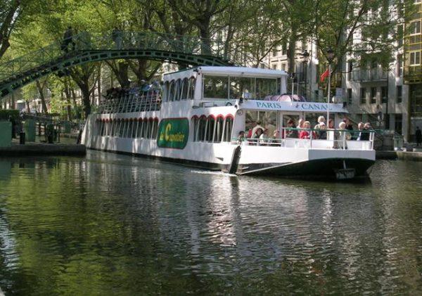 Croisière paris canal