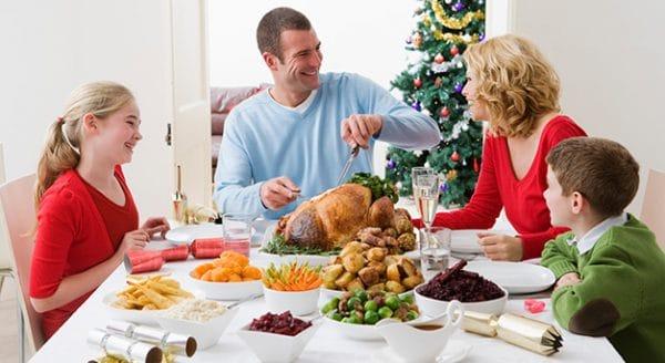 le dîner familial