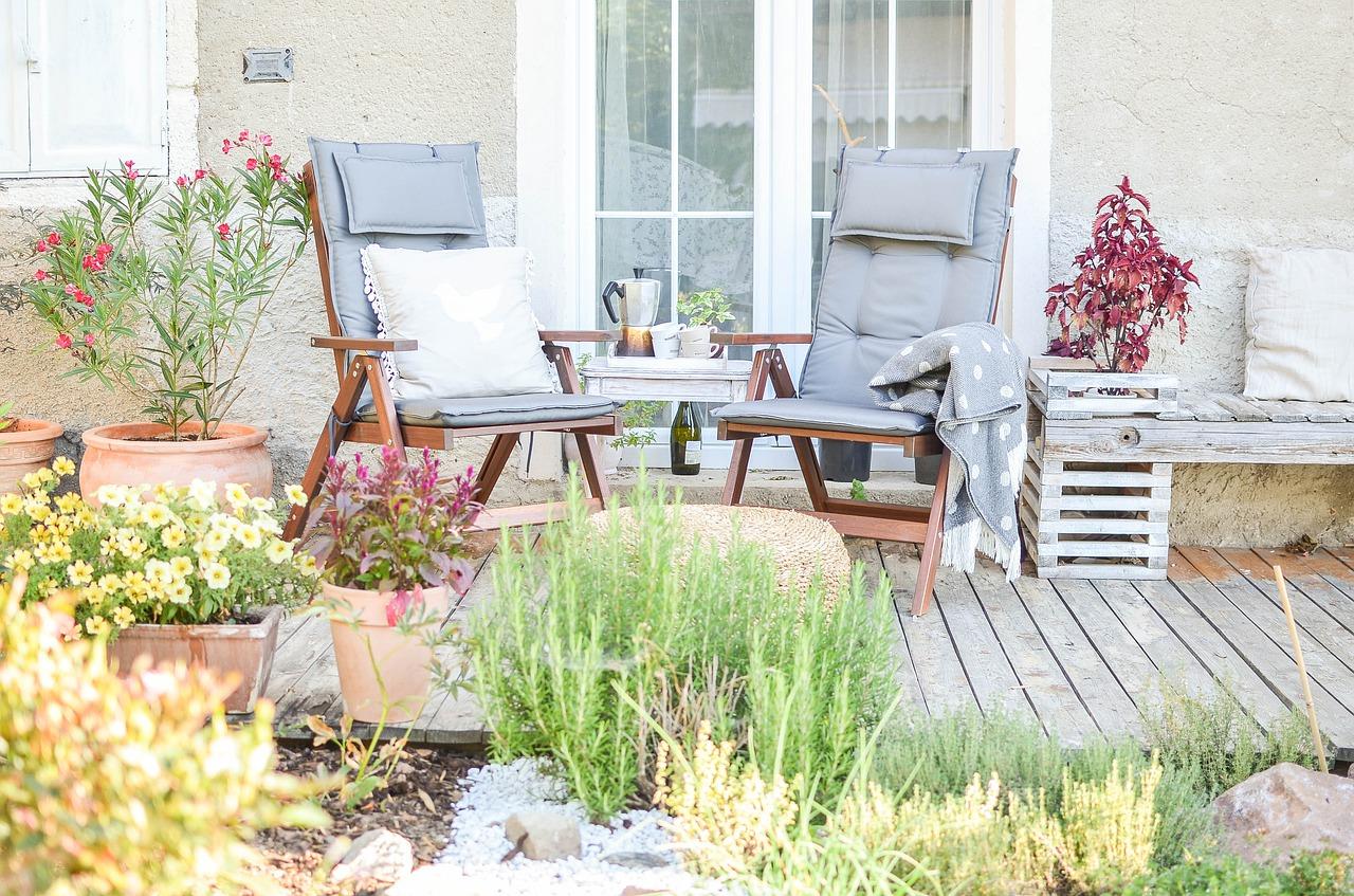 Installer une terrasse